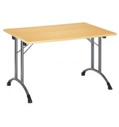 Table pliante en stratifié ou mélaminé