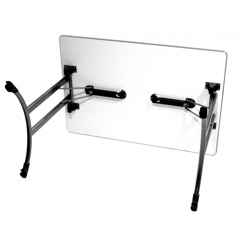 table de collectivit pliante en m lamin table de collectivit rectangulaire. Black Bedroom Furniture Sets. Home Design Ideas