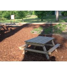 Table pique-nique en bois pour enfants