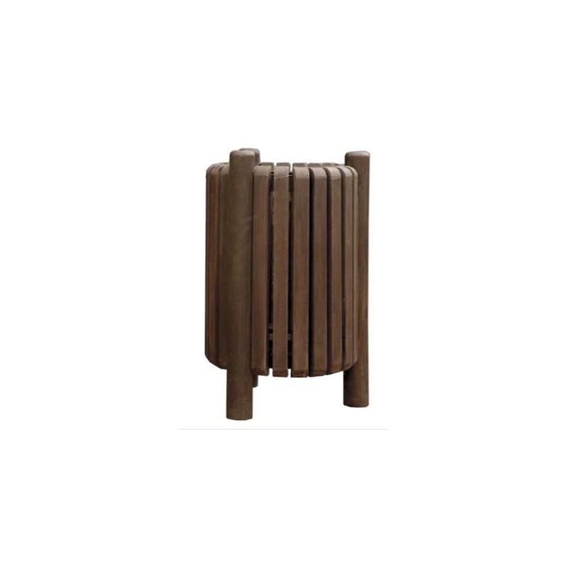 poubelle de rue en recycl mobilier urbain ext rieur en plastique recycl leader equipements. Black Bedroom Furniture Sets. Home Design Ideas