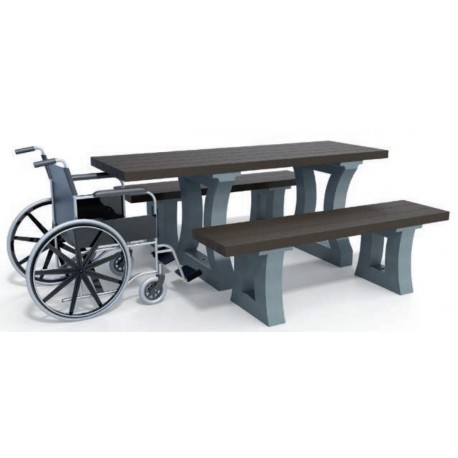 table de pique nique california pmr leader equipements. Black Bedroom Furniture Sets. Home Design Ideas