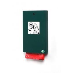 Distributeur de sacs hygiène canine - vert mousse - Leader Equipements
