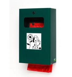 Distributeur de sacs hygiéniques canins avec collecteur