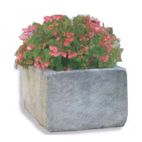 bac fleur en pierre reconstitu e auge en pierre reconstitu e. Black Bedroom Furniture Sets. Home Design Ideas