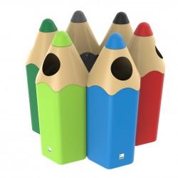 Corbeille Crayon en plastique - Leader Equipements
