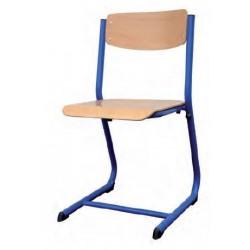 Visuel de la chaise écolier Nathanaël appui sur table - Leader Equipements