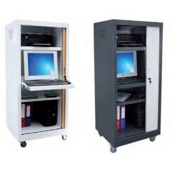 Meuble armoire de rangement vidéo en métal non feu M1 - Leader Equipements