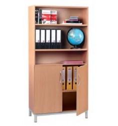 Armoire Adriano avec bibliothèque