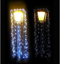 Guirlande lumineuse pour lampadaire