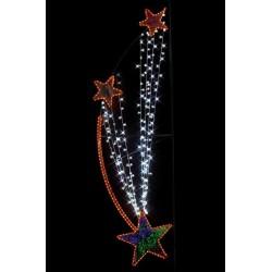 décoration de Noël pour réverbère - leader équipements
