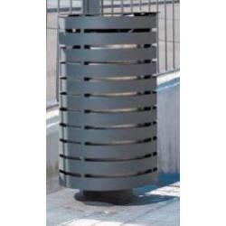 Poubelle extérieure en métal Portalo