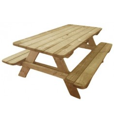 Table de pique nique en bois Alcor