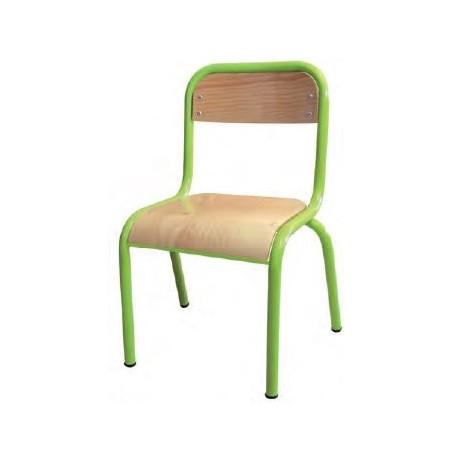 chaise pour cole maternelle noa chaise d 39 colier en bois et m tal. Black Bedroom Furniture Sets. Home Design Ideas