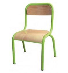 Chaise d'écolier en bois Noa