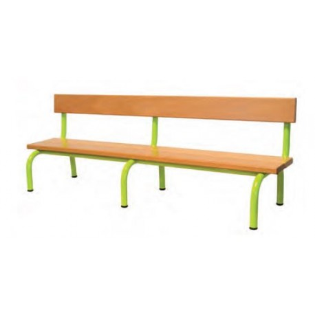 banc d 39 cole maternelle banc scolaire en bois et m tal banc d 39 cole en bois. Black Bedroom Furniture Sets. Home Design Ideas