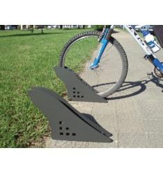 Support vélo monoplace design Soledad métal