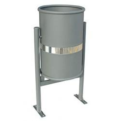 Visuel de la poubelle extérieure élégante Abysse métal - Leader Equipements