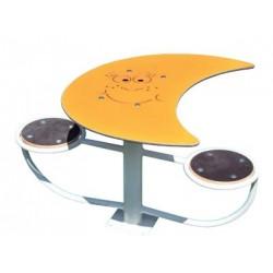Louna - Table pique-nique ou d'activité duo pour enfants - Leader Equipements