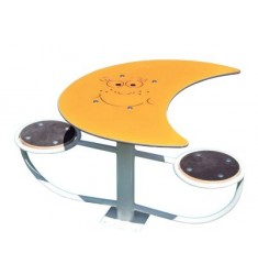 Louna - Table pique-nique ou d'activité duo pour enfants