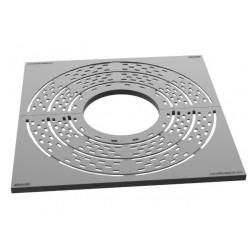 Grille de protection d'arbre à motifs circulaires Niu 794 x 794 mm - Leader Equipements