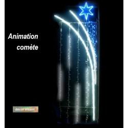 Décoration et illumination de Noël : pluie d'étoiles