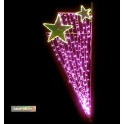Décoration et illumination de Noël : rosalide