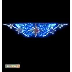 Visuel du décor irisant à suspendre la voûte Étoile lumineuse du Sud - Leader Equipements