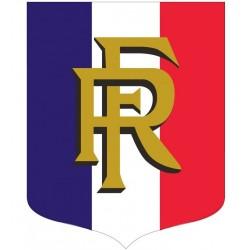 Visuel Écusson porte-drapeaux éco : Tricolore RF - Leader Equipements