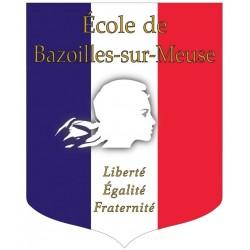 Écusson porte-drapeaux personnalisable spécial Loi Peillon