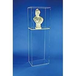 Visuel de la vitrine d'exposition pour le buste de Marianne Classique - Leader Equipements