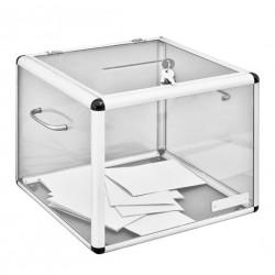 Visuel de l'urne électorale avec serrure - 1300 bulletins - de Leader Equipements