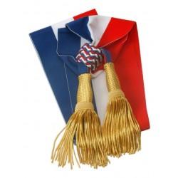 Visuel de l'Écharpe tricolore prestige pour Maire - Leader Equipements