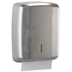 Dérouleur de papier essuie-mains pour collectivités