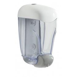 Distributeur de savon pour espace sanitaire collaboratif