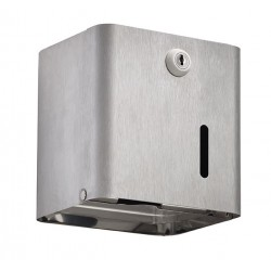 Distributeur de papier WC collectivités - Inox brossé - Leader Equipements