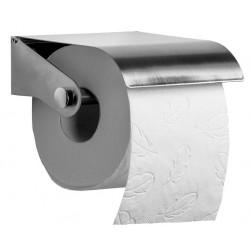 Dérouleur mural de papier toilette - Inox brossé - Leader Equipements