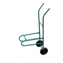 Chariot de transport pour chaise de collectivité