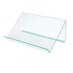 Lutrin présentoir de table transparent pour conférence - Leader Equipements