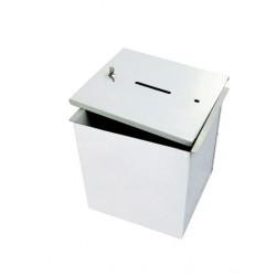 Visuel de l'urne de vote démontable en métal - Leader Equipements