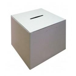 Urne en carton pour vote ou concours démontable
