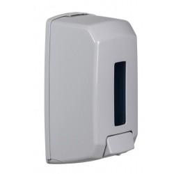 Distributeur de savon 1.1 L en ABS blanc antistatique - Saneva - Leader Equipements