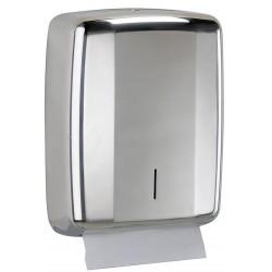 Distributeur de feuilles essuie-mains - Inox AISI 304 brillant - LENSEA - Leader Equipements