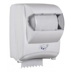 Distributeur autocut d'essuie-mains en rouleau 450 formats - Oléane - Leader Equipements