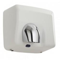 Sèche-mains automatique horizontal en métal à buse pivotante - Pulseo 2400 W - Leader Equipements