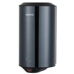 Bloc compact sèche-mains automatique horizontal en Inox brillant noir - STORMA 1150 W - Leader Equipements