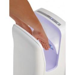 Sèche-mains vertical en ABS blanc - AERY Plus 750 W - Leader Equipements