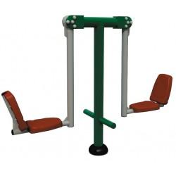 Étirement des jambes : équipez votre parcours santé avec Leader Equipements
