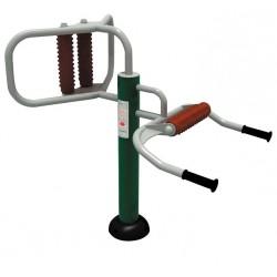Équipez un appareil de massage de l'épaule sur votre parcours santé
