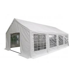 Tente de réception 5 x 8 m en tubes Ø 50 mm - PVC M2 - hauteur 2.2 m - Leader Equipements