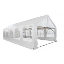 Tente barnum plein air pro 5 x 10 m - tubes Ø 76 mm - PVC M2 - hauteur 220cm - leader Equipements